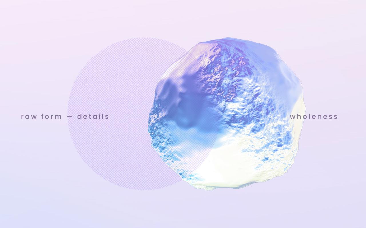 Atlas Authentica visual identity halftone