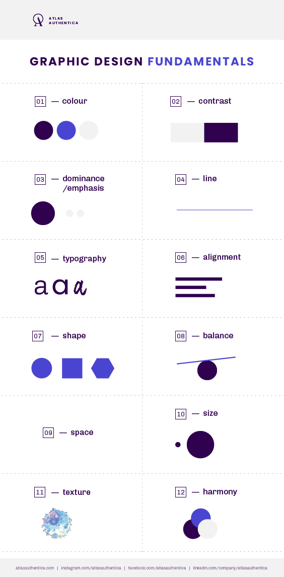 graphic design fundamental elements
