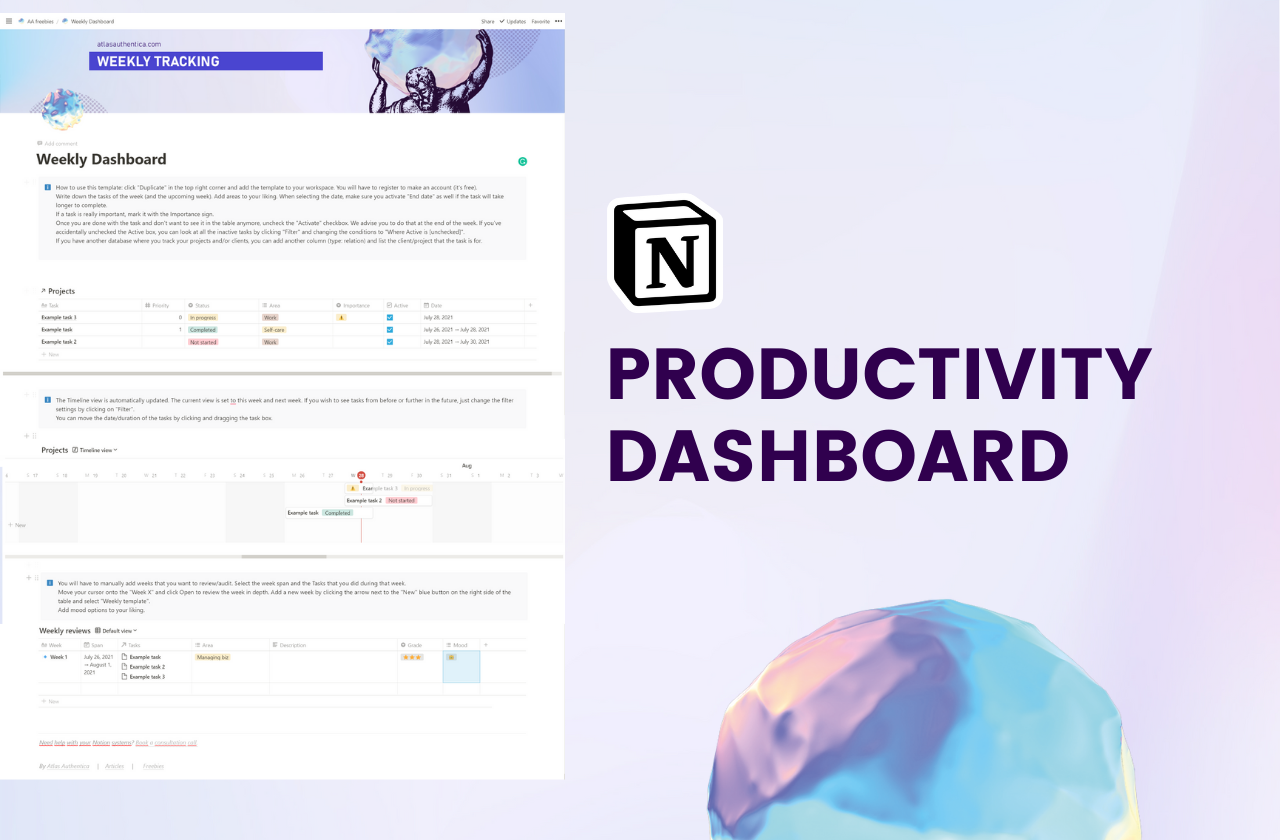 Notion Productivity Template